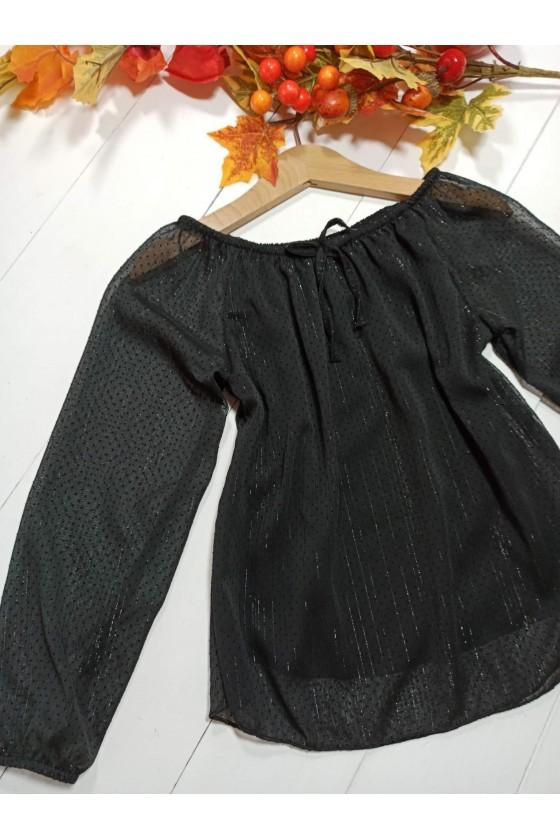 Bluzka Kiki kropeczki black