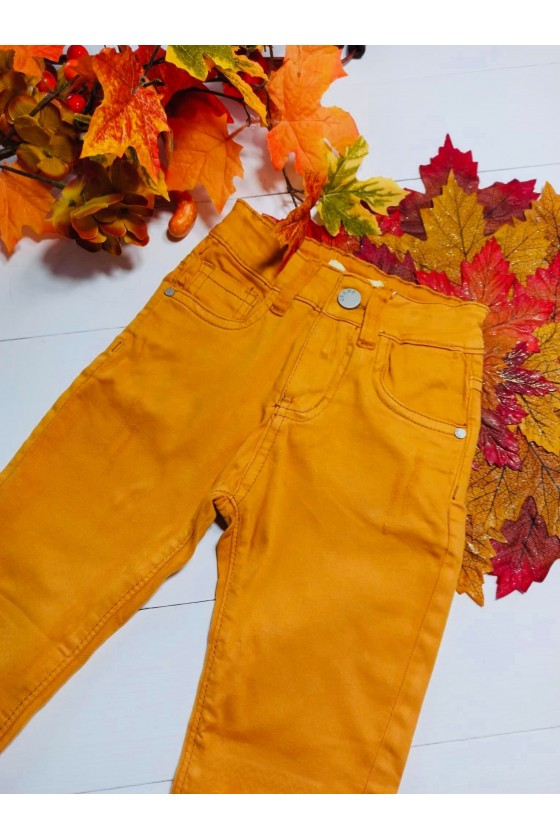 Spodnie Cindy miodzik