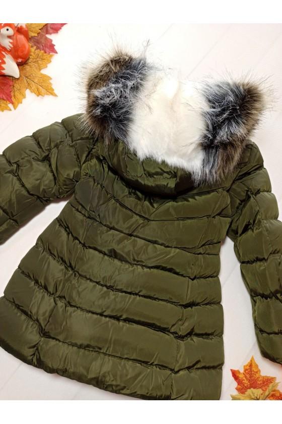 Płaszczyk/kurtka zimowa Lorena  khaki