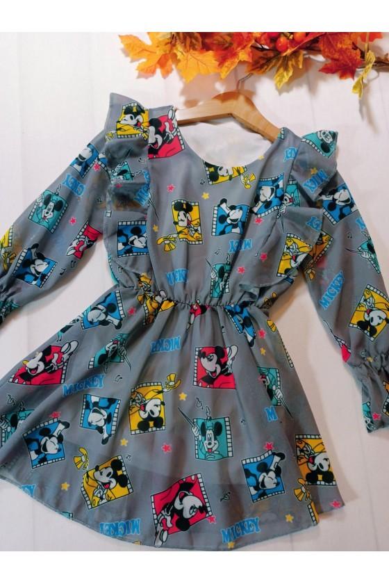 Sukienka Ivy szara