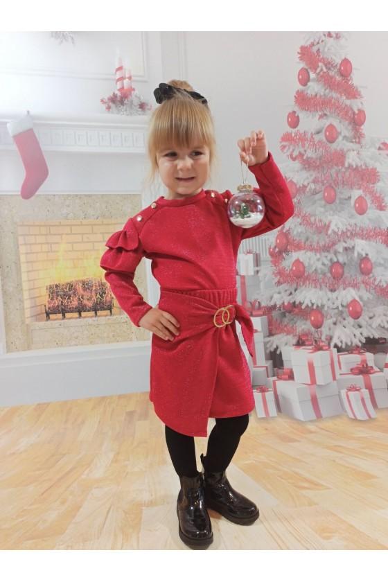 Spódniczka dla dziewczynki Anielka czerwona