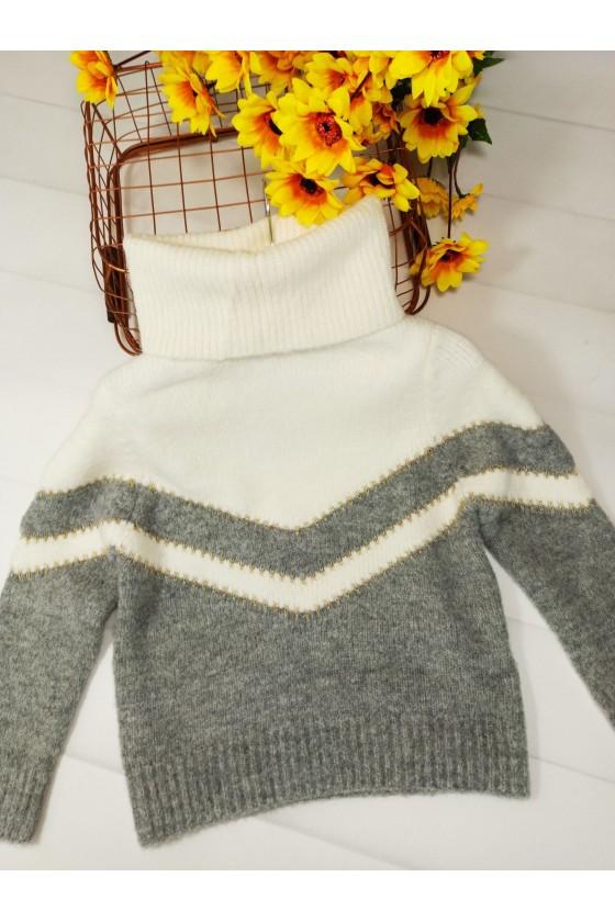Sweter Sonia  szary