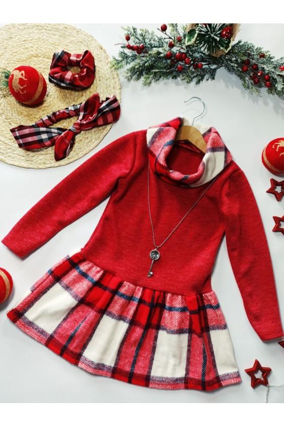 copy of Sukienka Christina kluczyk red