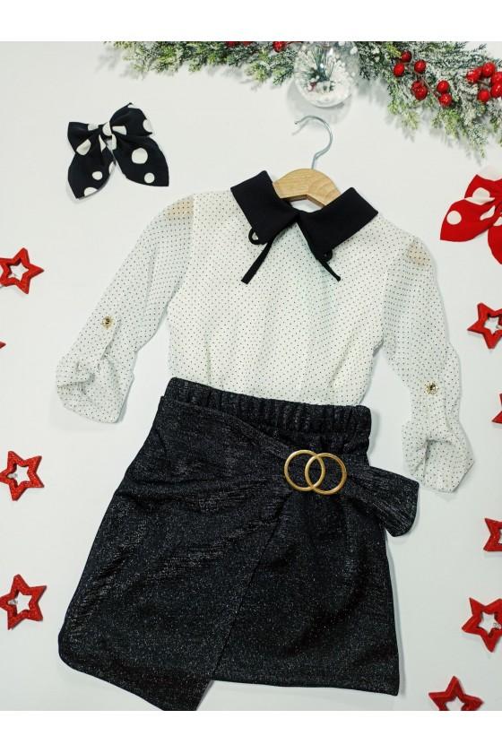 Tiffany blouse collar white