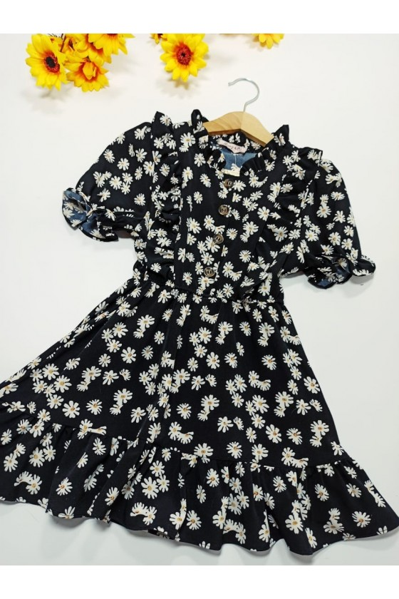 Felicia Black Dress