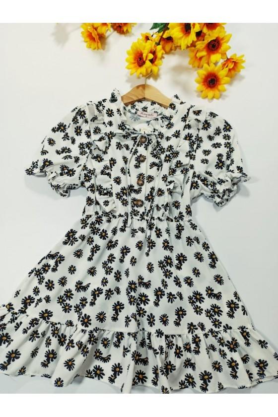 Felicia White Dress