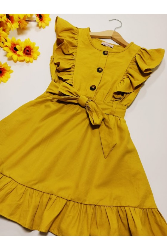Bibi honey dress