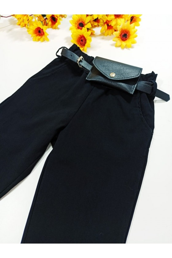 Gabi pants strap/bag black