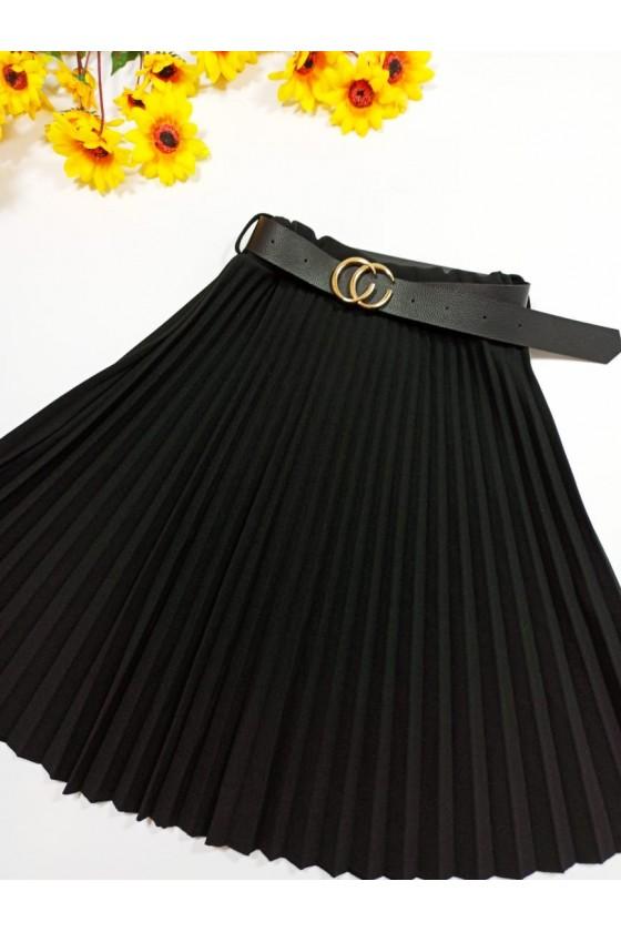 Katia Midi pleated skirt...