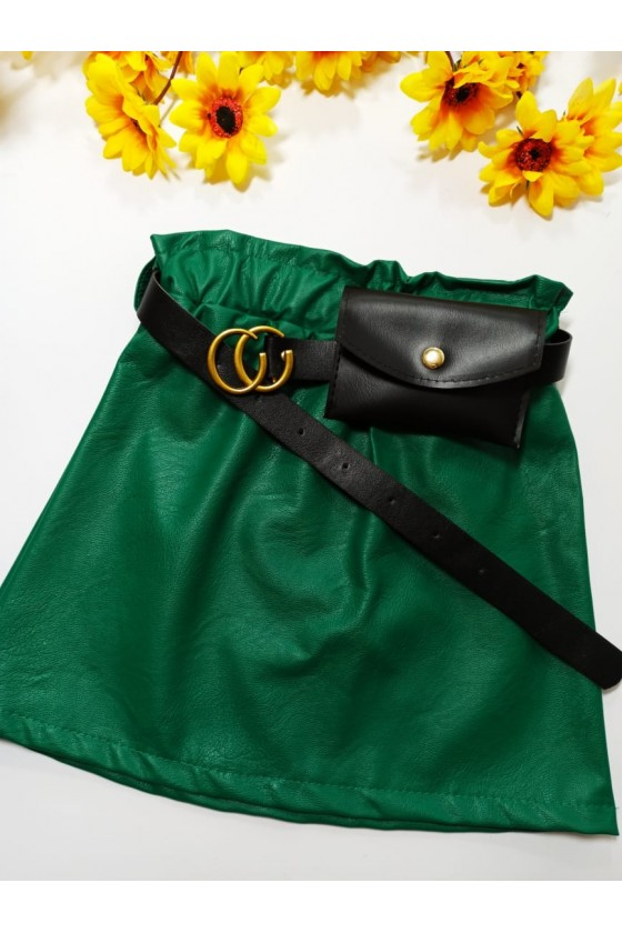 Nina skirt strap with green...