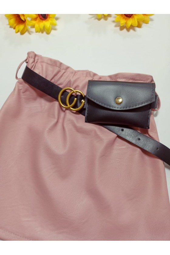 Nina skirt strap with powder bag