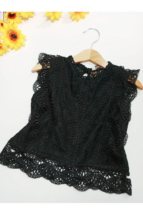 Tiffany black blouse