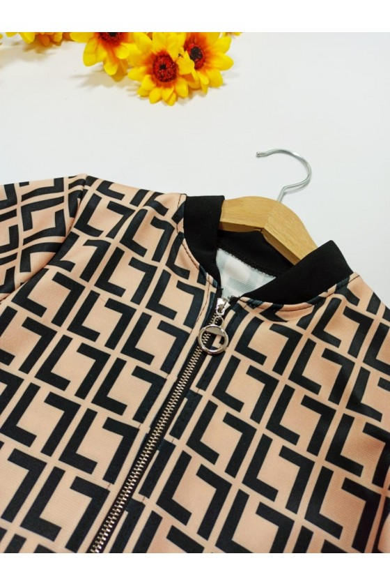 Bomberka Maja bluza beżyk