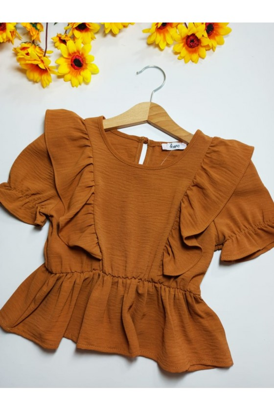 Brown Fields Blouse