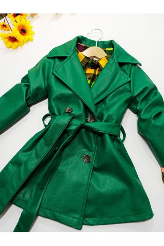 Coat Aurelia green