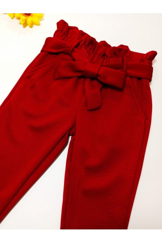 Pants Imelda burgundy