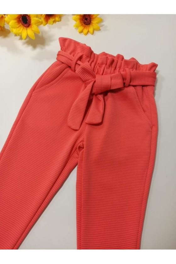 Spodnie Imelda brzoskwinka