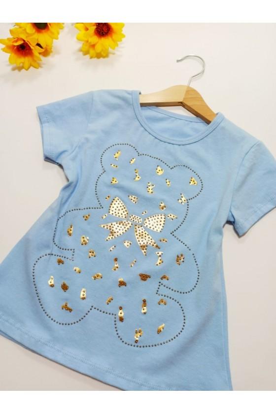 Lola baby blue T-shirt