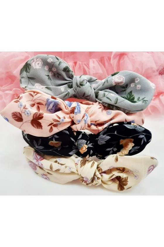Flower bow band