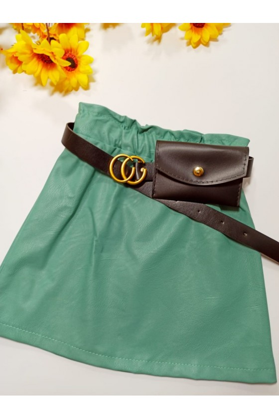 Skirt Nina mint strap with...
