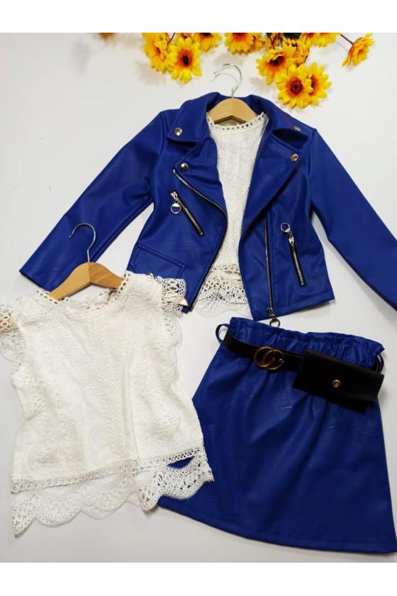 Nina skirt strap with bag modrak