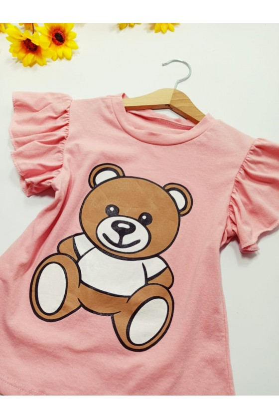 Ayana powder teddy bear T-shirt