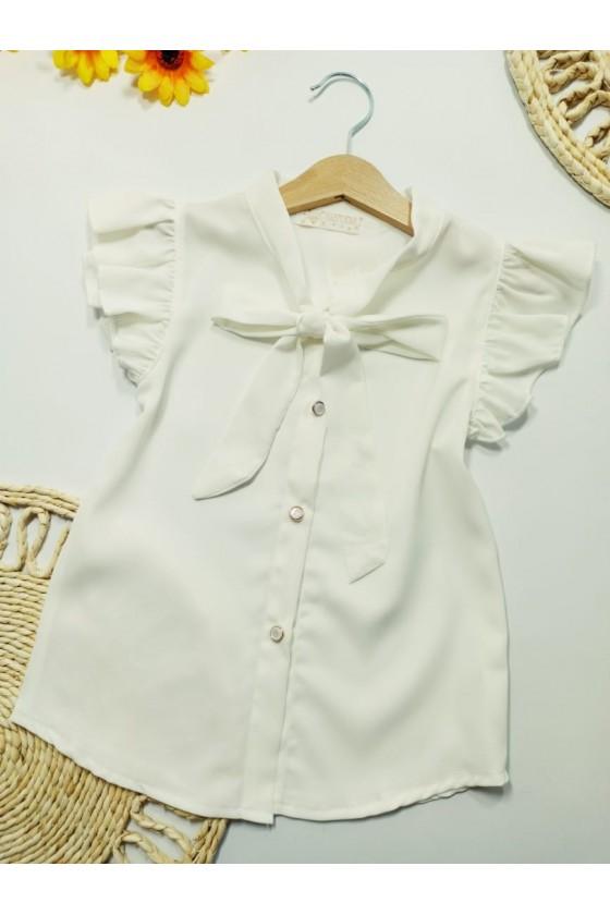 Cora ecru blouse
