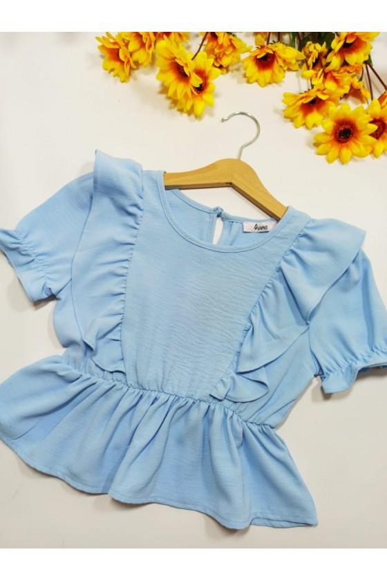 Blouse Fields baby blue