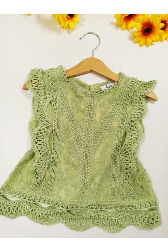 Tiffany kiwi blouse