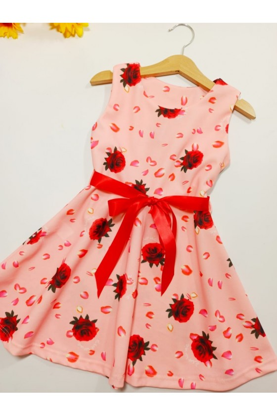 Stella flowers powder dress