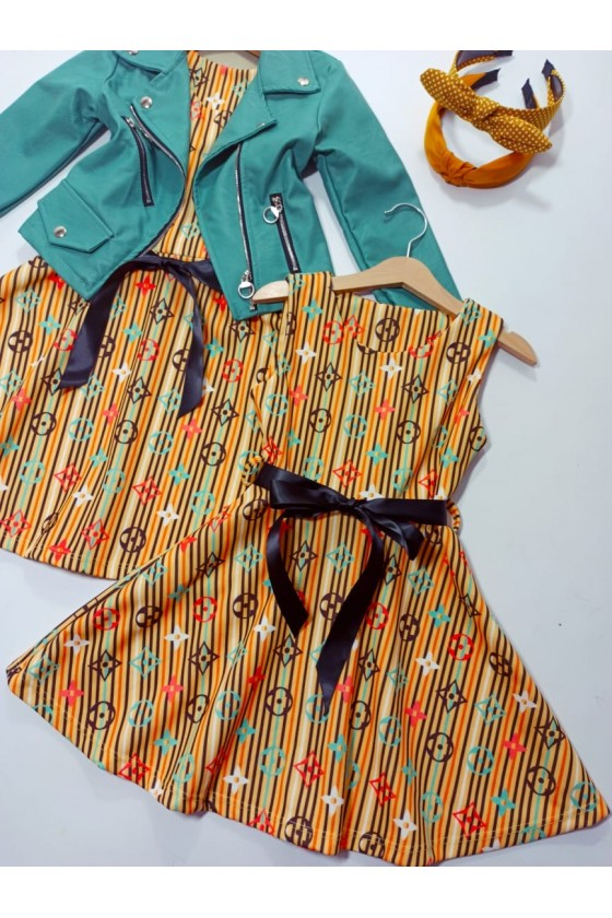 Stella sun striped dress