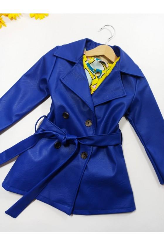 Coat Aurelia modrak