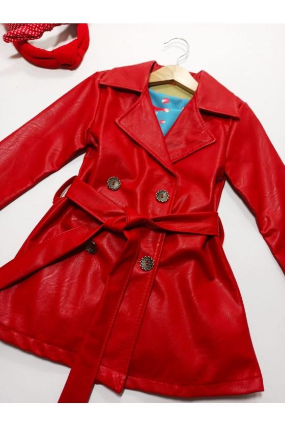 Coat Aurelia red