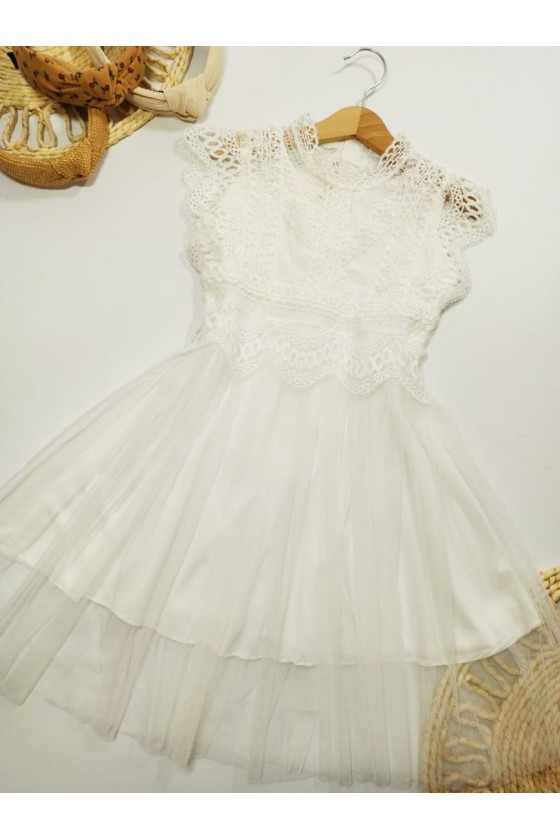 Dress Liliana lace white