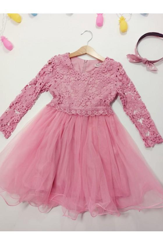 Monti powder dress