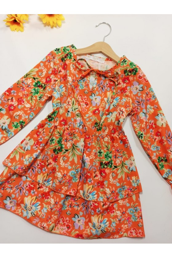 Sukienka Tika orange