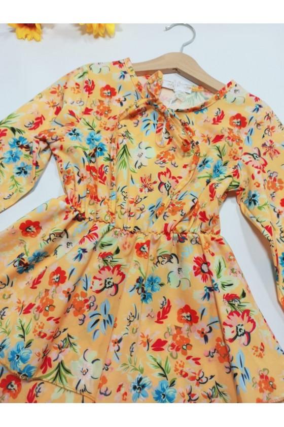Sukienka Tika yellow