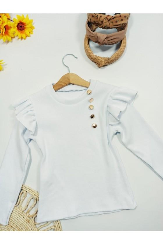 Luna white blouse