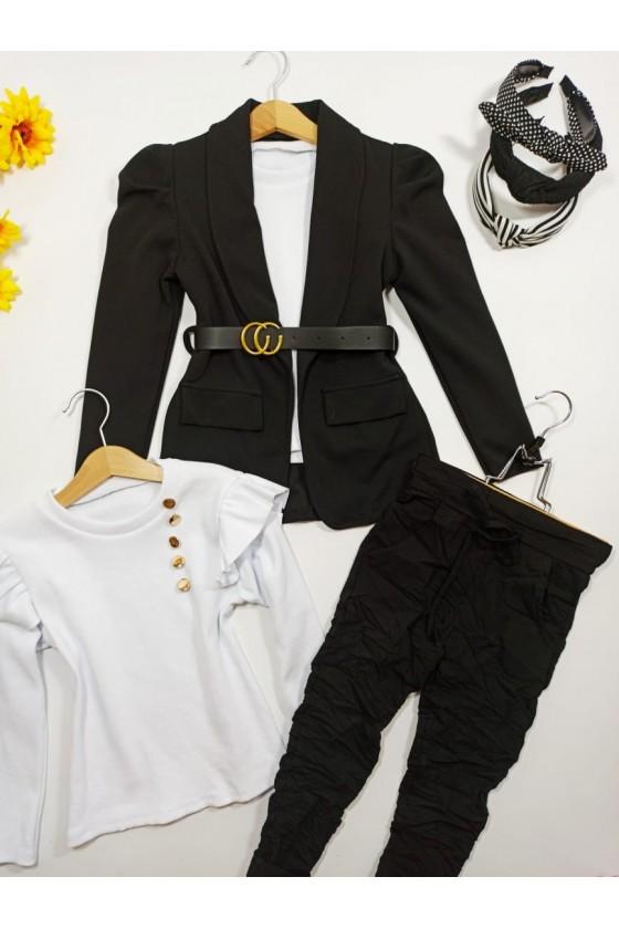 Eliana Black Jacket