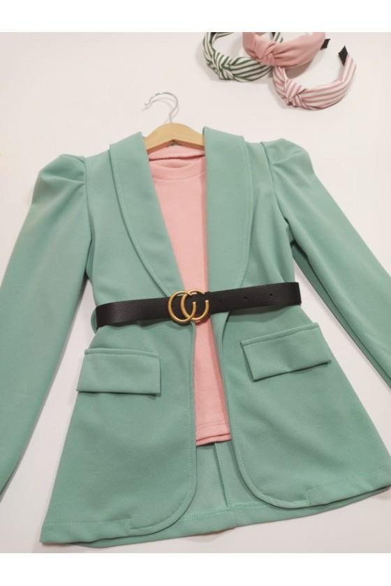 Eliana Mint Jacket