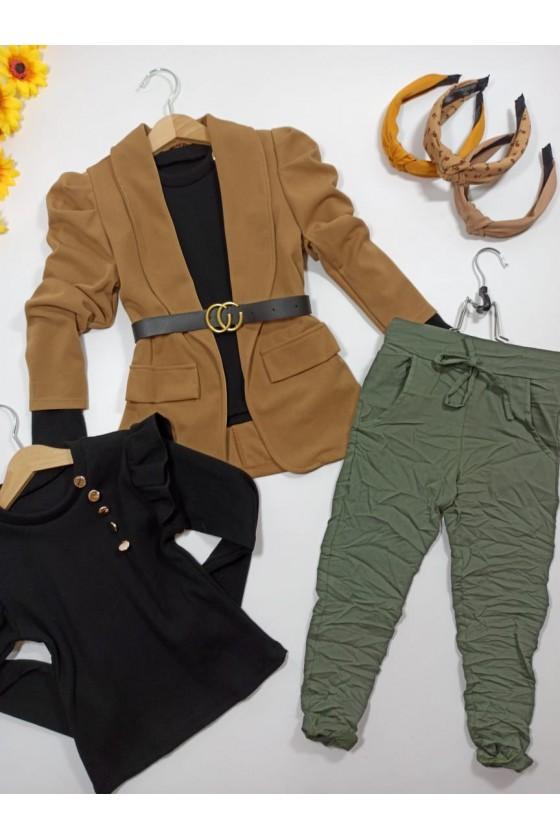 Lora khaki pants