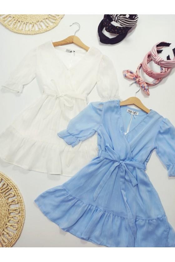 Coco baby blue dress