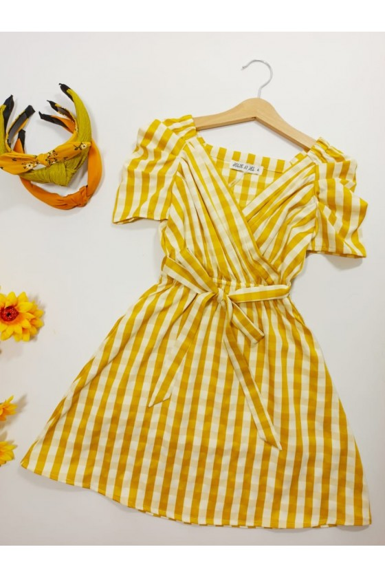 Tilda Lemon Dress