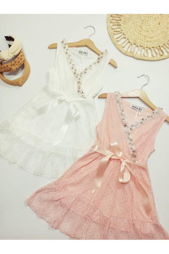 Zoja white dress