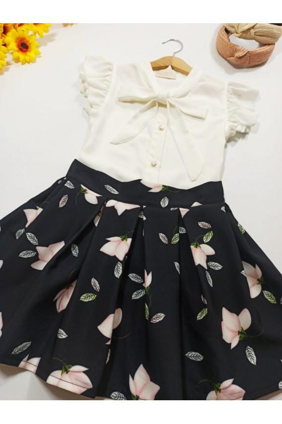 Magnoly black skirt