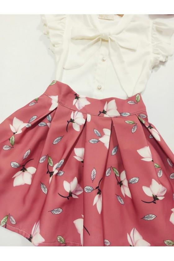 Magnoly powder skirt