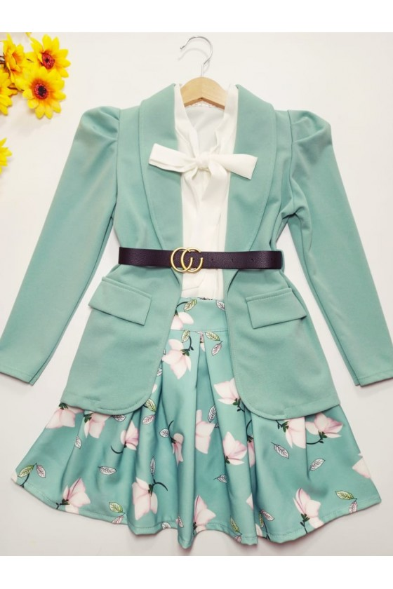 Magnoly mint skirt
