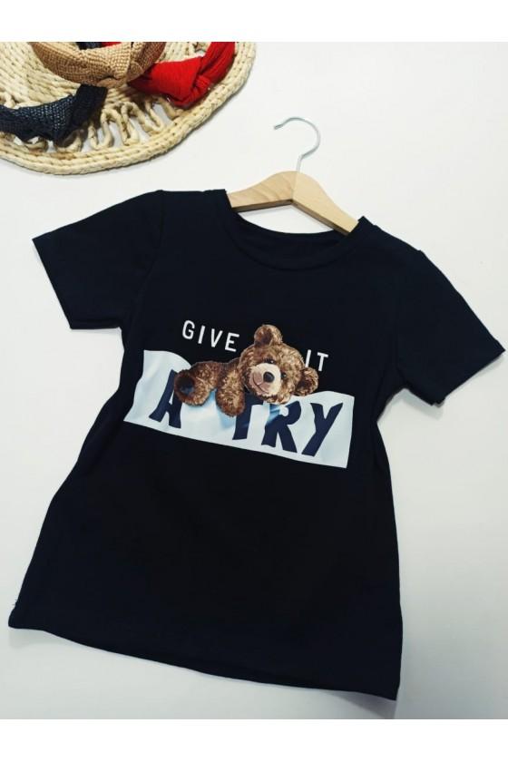 Teddy bear t-shirt give it