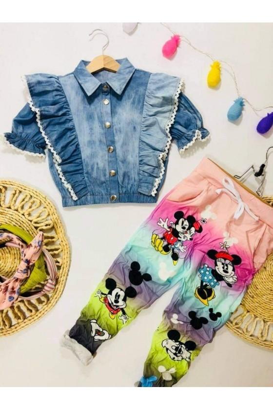 Rainbow Mouse Pants