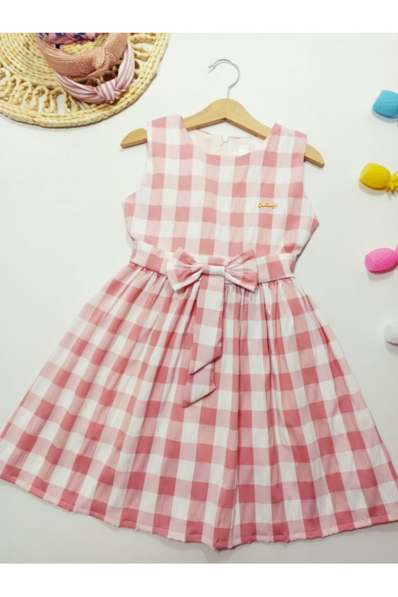 Vivian powder dress